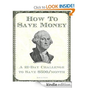 Get out of Debt,  How to save 500.00 a Month Book from Amazon