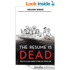 RESUME IS DEAD COVER